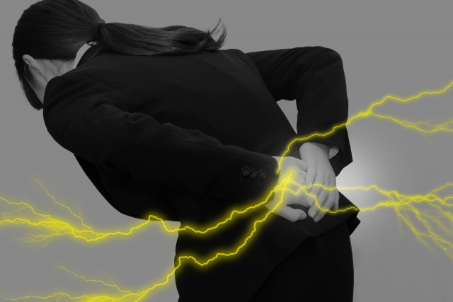 ぎっくり腰の多くは筋肉の炎症が原因
