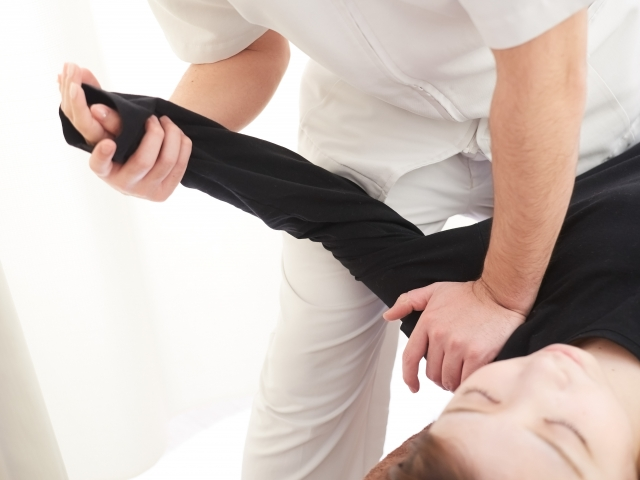 痛みの原因から改善する施術です